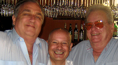 Lunch with Guido Vietri and Hugh Spring at Gian's, Jomtien, June 2008