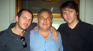 With Orian Williams & Pat Gilbert in Bangkok, May 2008